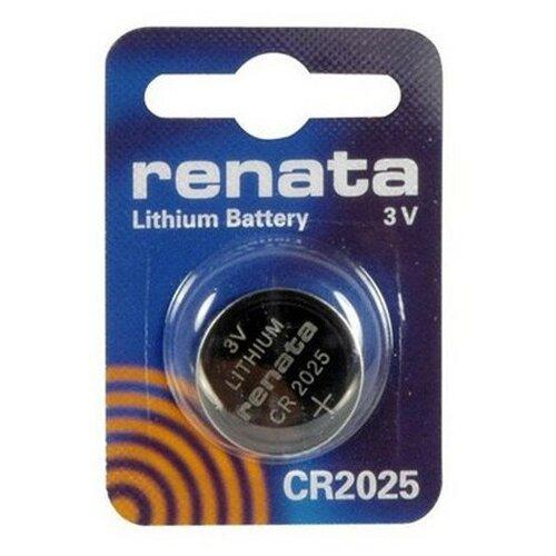 Фото - Батарейка CR2025 - Renata (1 штука) батарейка cr1620 renata 1 штука