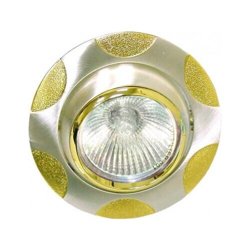 feron 23334 Feron -Светильник G5.3 поворотный серебро/золото FERON