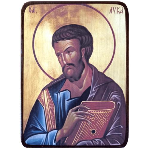 Икона Лука Евангелист, апостол, размер 14 х 19 см