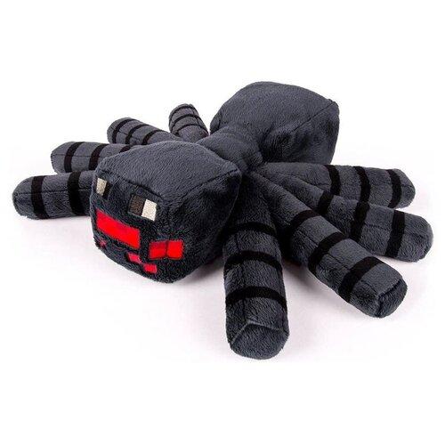 Детская мягкая игрушка ВсеИгрушки / Плюшевый Паук из игры Майнкрафт (Minecraft) для детей, мальчиков и девочек