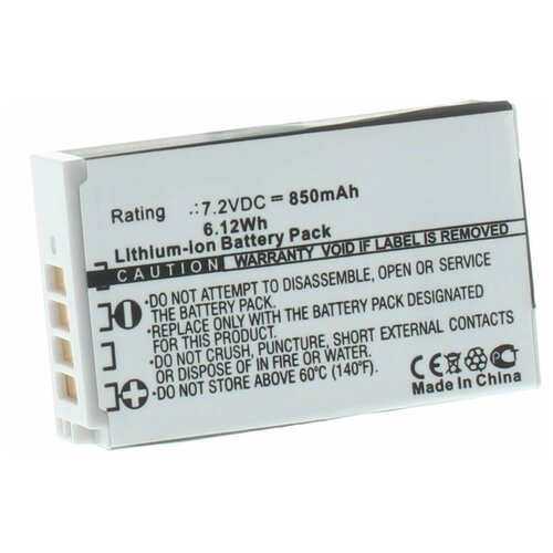 Фото - Аккумулятор iBatt iB-U1-F434 850mAh для Nikon 1 J4, 1 S2, аккумулятор ibatt ib u1 f428 1180mah для gopro hd hero3 hd hero3