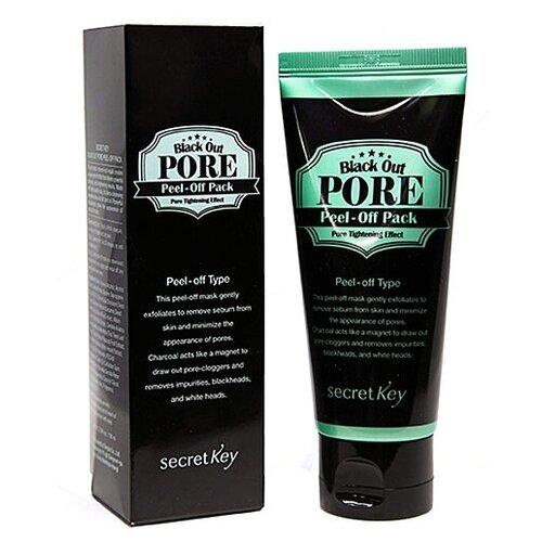 Secret Key Black out pore peel-off pack, 100мл Маска-пленка для лица недорого