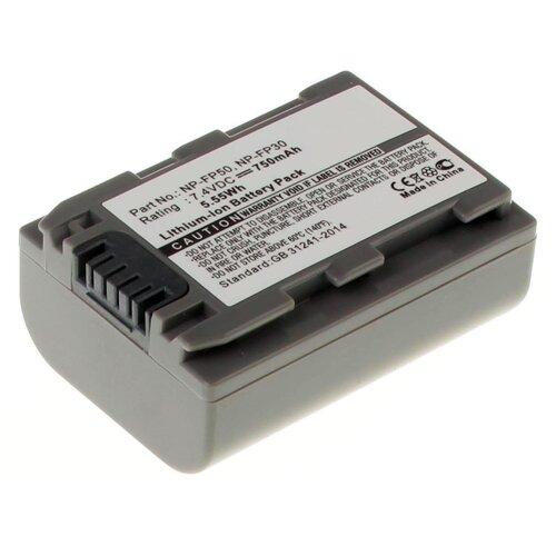 Фото - Аккумуляторная батарея iBatt 750mAh для Sony DCR-30, DCR-HC16E, DCR-HC33E, DCR-DVD905, DCR-HC43E, DCR-DVD805, DCR-SR70E аккумулятор ibatt ib u1 f324 3300mah для sony dcr sr62 dcr sr300 hdr hc7 hdr ux5 dcr sr100 hdr ux7 dcr sr45 hdr sr11e dcr sr65 hdr sr10e dcr sx40 dcr dvd610e dcr dvd106e dcr sr42 dcr sr47 hdr sr12e