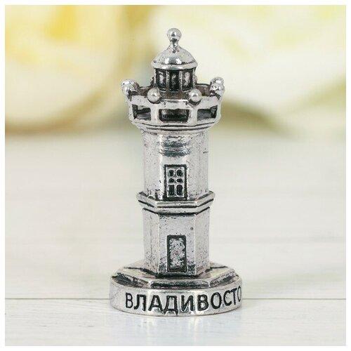 Фигурка «Владивосток» (маяк, черненое серебро), 2,1 х 4,2 см 3132774