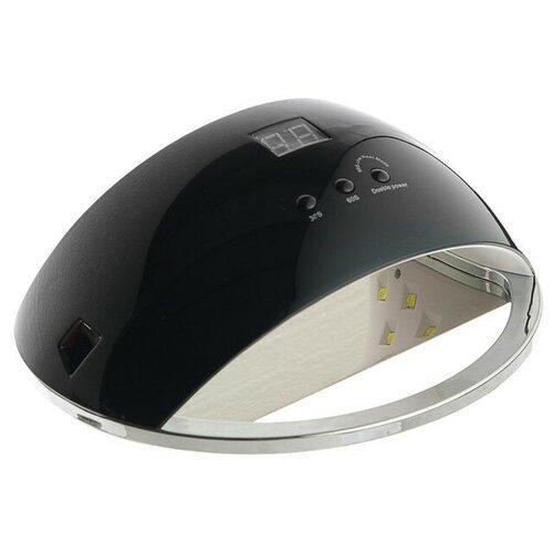 Лампа для гель-лака LuazON LUF-22, LED, 48 Вт, 220 В, 21 диод, таймер 30/60/99 сек., чёрная  - Купить