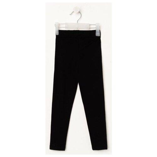 Легинсы Kaftan Trendy размер 86-92, черный легинсы molo размер 86 8406 pearled blush