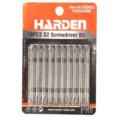набор harden 550833 Набор бит Harden 10шт 550603