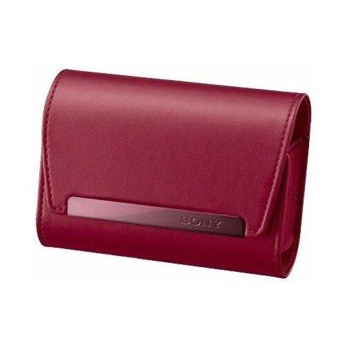 Чехол для фотокамеры Sony LCS-HH Red натуральная кожа для аппаратов серий H/ HX/ W/ WX красный (LCSHHR.SYH)