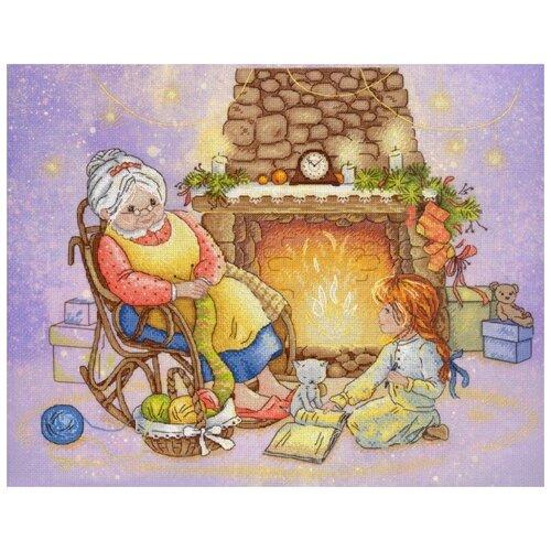 Рождественский вечер набор диз.канва+мулине 28х35 МП-Студия РК-519 28х35 МП-Студия РК-519