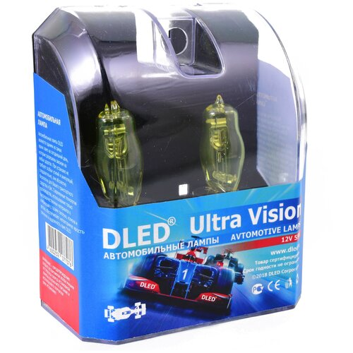 Автомобильные лампы H4 Rainbow DLED