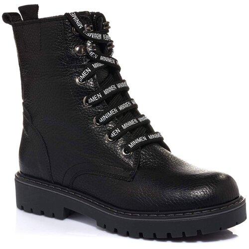 Ботинки MINIMEN размер 36, черный