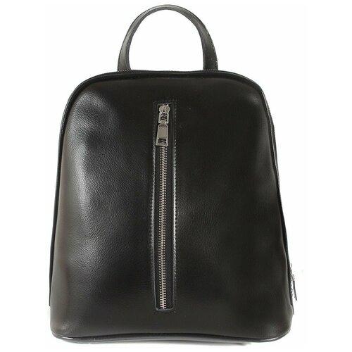 Рюкзак/Рюкзак женский/Рюкзак женский натуральная кожа/MAYGER/А-СВ-3500/черный/модель рюкзак/городской