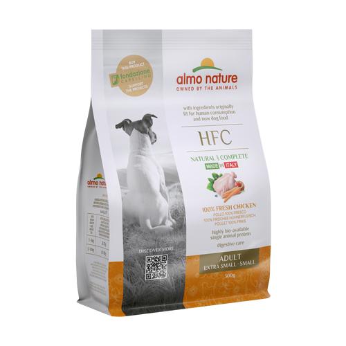 Almo Nature Для взрослых собак со свежей Курицей (50% мяса) для карликовых и мелких пород (XS-S Adult Chicken) 0,3 кг