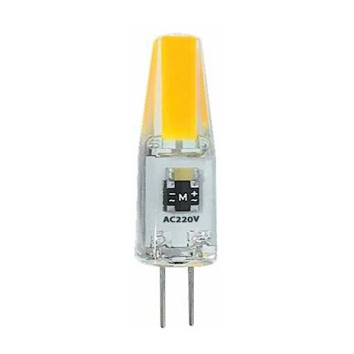 Фото - Лампа светодиодная PLED-G4 COB 3Вт капсульная 5500К холод. бел. G4 240лм 220В JazzWay 2857477 (упаковка 10 шт) лампа светодиодная jazzway pled g4