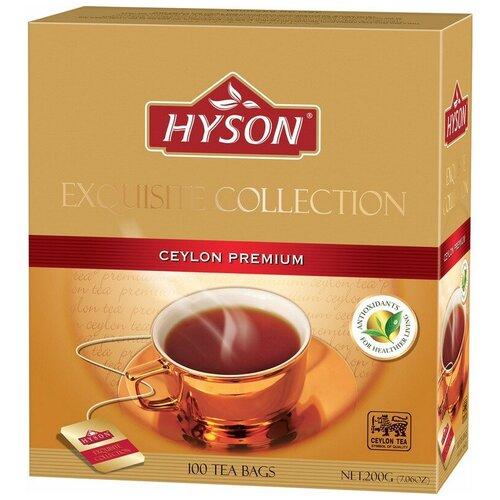 Чай HYSON черн. Exotic Collection Ceylon Premium 100 пак x 2гр/уп