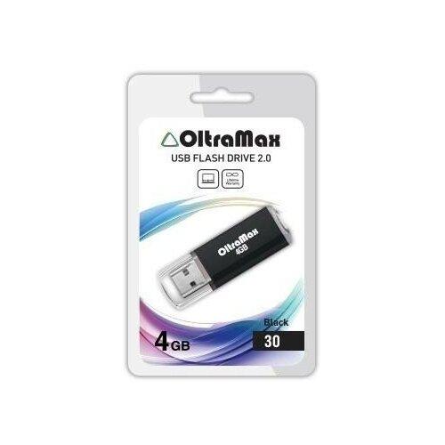USB флэш-накопитель OLTRAMAX OM004GB30-В черный 1076904