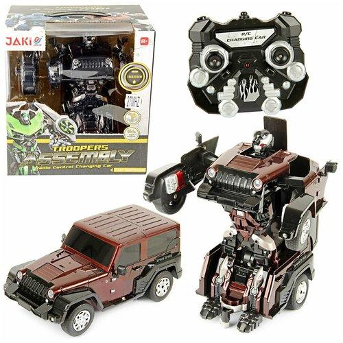 Робот-машина Veld co 58331 машина veld co 83563 металлическая crawler off road pickup 360 противоударная система инерция свет