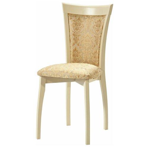 Комплект стульев Аврора Тулон мягкий Слоновая кость/Андрис Вензель 160 беж