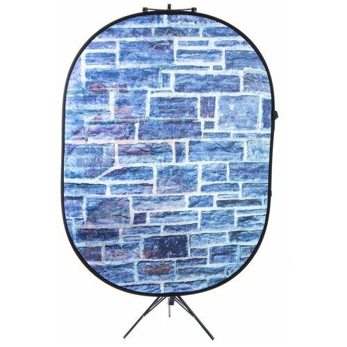 Фото - Фон Selens на дуге тканый, арт.13/14, овал 150х200 см (каменная кладка) printio рюкзак 3d каменная девушка