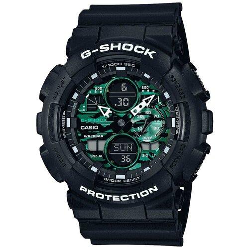 Японские наручные часы Casio G-SHOCK GA-140MG-1AER с хронографом