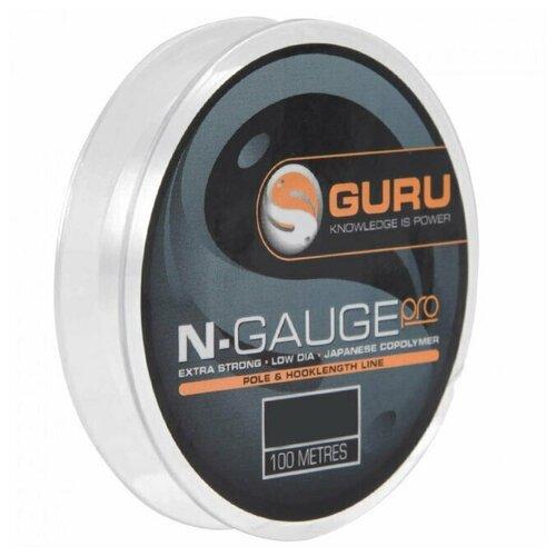 guru бикини Леска Guru N-Gauge Pro 0,10мм 100м