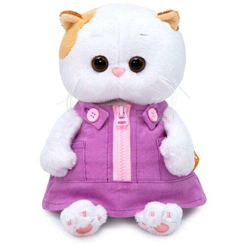 Мягкая игрушка Budi Basa Basik & Co Кошка Ли-Ли BABY в вельветовом сарафане 20 см