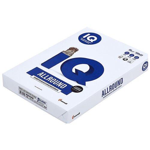 Фото - Бумага IQ Allround А3, марка В, 80 г/кв.м, (500 листов) бумага iq allround а4 марка в 80 г м2 500 листов