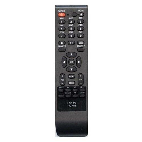 Фото - Пульт ДУ Rolsen RC-A03 LCD TV пульт huayu rc a06 rl 32b05f rb 32k101u для tv dvd rolsen