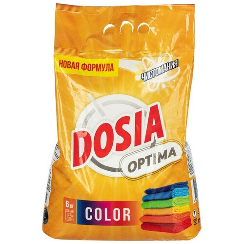Порошок стиральный DOSIA Optima автомат COLOR 6 кг недорого