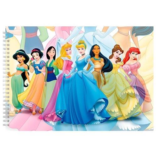 Альбом для рисования, скетчбук Принцессы из Диснея