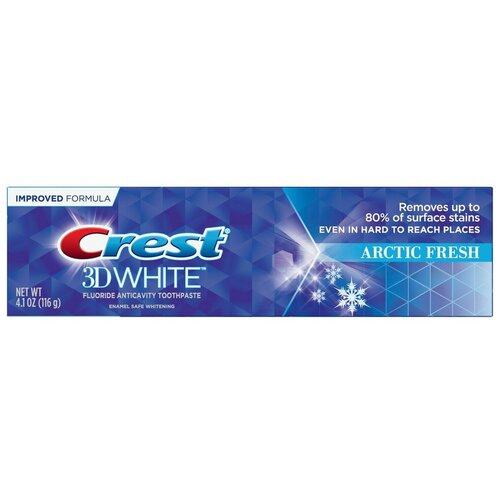Crest 3D White Arctic Fresh – Зубная паста 116 грамм