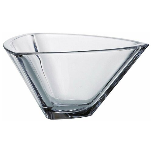 Ваза для фруктов 24,5 см треугольная Crystalite Bohemia