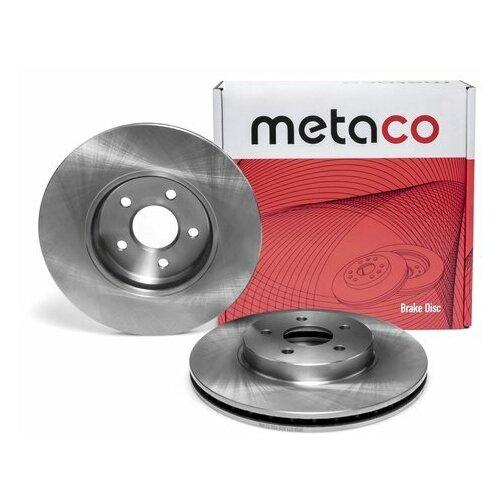Диск тормозной передний вентилируемый (Производитель: METACO 3050073)