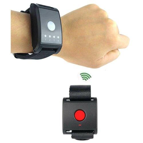 Часы-кнопка вызова персонала и часы-пейджер. Система вызова из пары часов