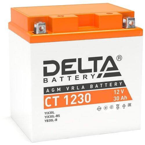 Аккумулятор DELTA Battery CT 1230 аккумулятор delta battery gel 12 55