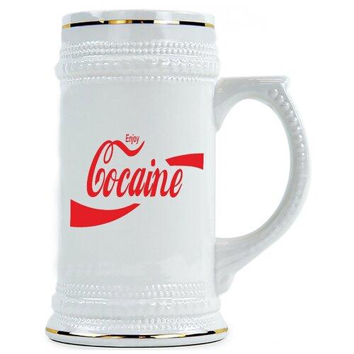 Пивная кружка Cocaine