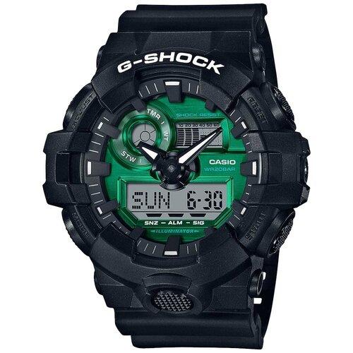 Японские наручные часы Casio G-SHOCK GA-700MG-1AER с хронографом