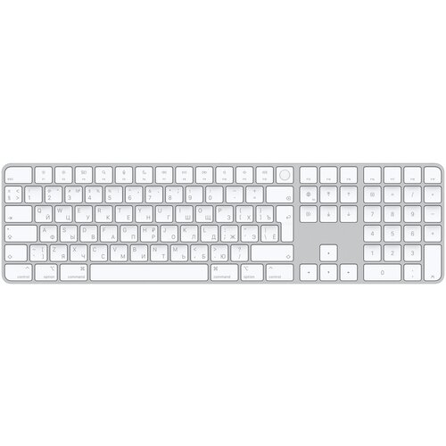 Клавиатура Apple Magic Keyboard with Touch ID and Numeric Keypad [MK2C3RS/A]