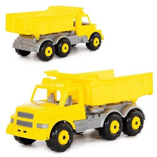 Купить Буран №2, автомобиль-самосвал (жёлтый), Полесье, Машинки и техника