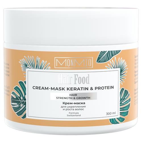 Фото - Крем-маска Кератин-Протеин, для укрепления и роста волос, 300 мл хаир витал крем маска для укрепления и роста волос 150 мл