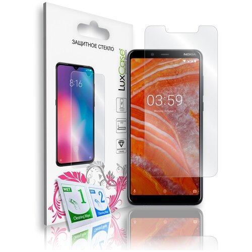 Защитное стекло для Nokia 3.1 Plus / на Нокиа 3.1 Плюс На плоскую часть экрана 0,33 мм