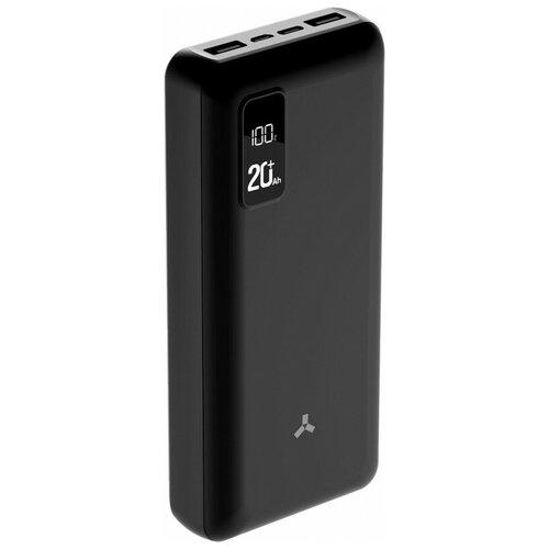external battery accesstyle violet 10mp 10 000 mah Внешний аккумулятор Accesstyle Winter 20PD, 20000 mah, черный