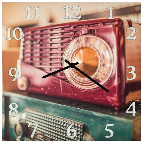 SvS Настенные часы SvS 3001962 Ретро приемник