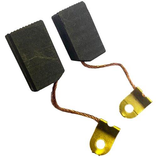 Щетки угольные угловых шлифмашин Ижевск E230, E252, E256 6,3х12,5х20 мм (2 шт)