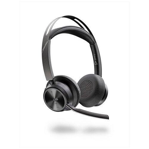 Plantronics Poly VOYAGER FOCUS 2-M no stand [213726-02] - Bluetooth гарнитура, stereo, USBA