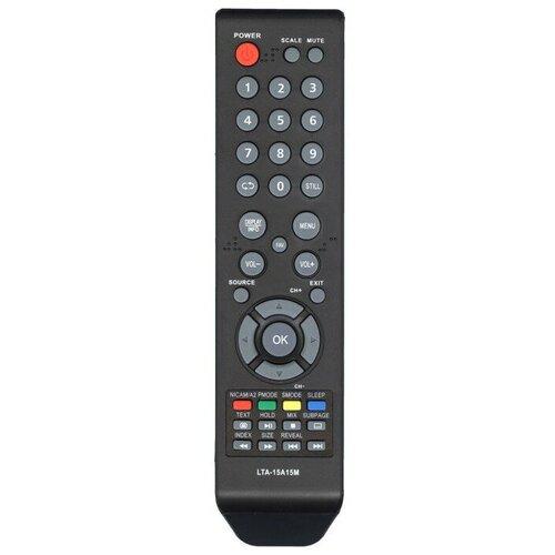 Фото - Пульт Huayu LTA-15A15M (для телевизора Akai, Erisson, Hyundai, Polar, Rolsen, VR, Lentel) пульт 37m10 rubin izumi hyundai для телевизора rolsen