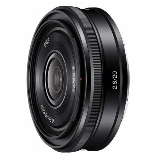 Фото - Объектив Sony 20mm f/2.8 E (SEL-20F28) объектив viltrox pfu rbmh 20mm f 1 8 asph sony e черный