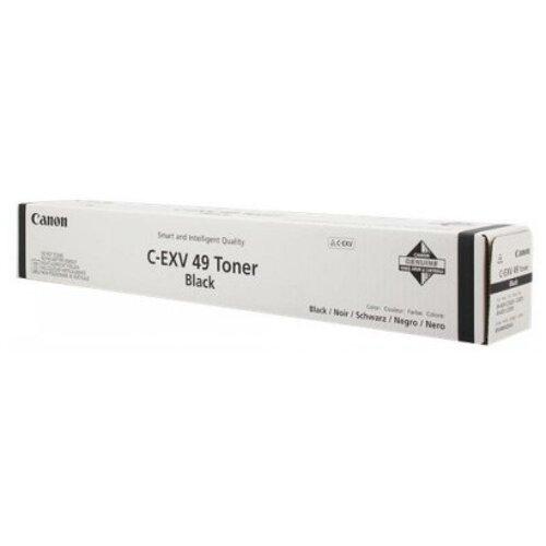 Фото - Тонер Canon C-EXV49BK 8524B002 черный туба для копира iR-ADV C33xx тонер картридж katun для canon ir c1021 c1028 c exv26 magenta туба