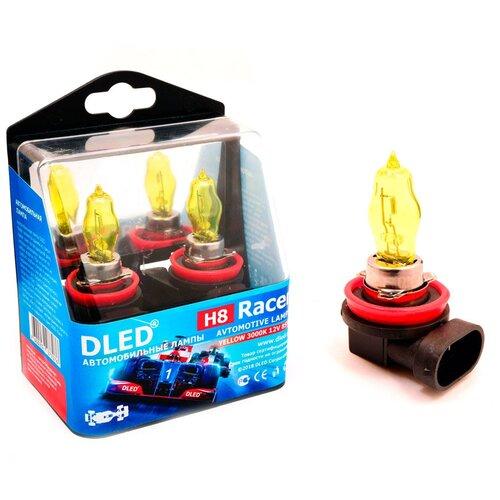 Автомобильная лампа H8 3000K DLED