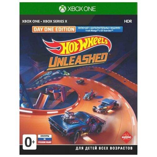Игра Hot Wheels Unleashed Day One Edition (Издание первого дня) Русская Версия (Xbox One/Series X)